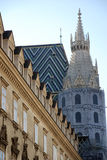 View of St.Stephens cathedral (Vienna) Stock Photography