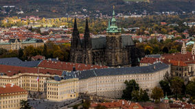 View on st vitus cathedral Stock Images
