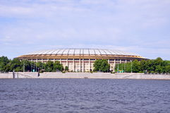 View of stadium Luzhniki Royalty Free Stock Photo