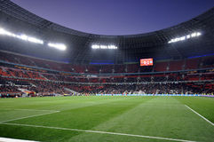 View on the stadium Royalty Free Stock Photography