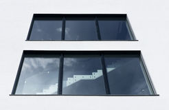 View of the staircase window Stock Photography