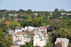 View of Stamford, Connecticut. (USA Royalty Free Stock Images