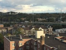 View of Stamford, Connecticut. & x28;USA& x29 Royalty Free Stock Image