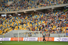 View on the stands during the match Royalty Free Stock Images