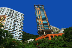 View of the Stanley, Hong Kong. Royalty Free Stock Photo