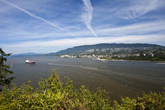 View from Stanley Park Stock Image
