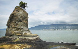 View from Stanley Park in Vancouver. Canada Stock Photography