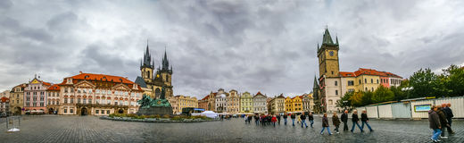 View on Staromestke namesti in Prague Royalty Free Stock Photography