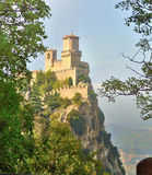 View of the state of San Marino Monte Titano Royalty Free Stock Images