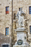 View of the Statue of Pierluigi da Palestrina Stock Photography