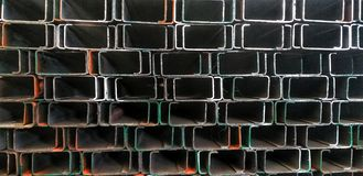 View of steel background stock images