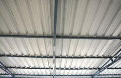 Steel roof Royalty Free Stock Images