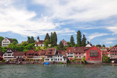 View of Stein Am Rhein. Royalty Free Stock Photos