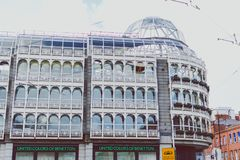 View of Stephen`s Green shopping centre in Dublin city centre ne Royalty Free Stock Photography