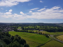 View from Stirling castle royalty free stock photo