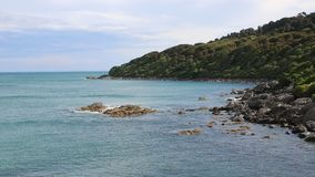 View from Stirling Point stock video footage