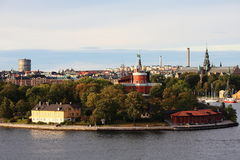 View of stockholm Royalty Free Stock Images