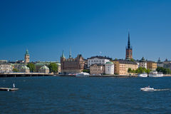VIEW OF STOCKHOLM Royalty Free Stock Photography