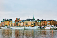 View of Stockholm Stock Image