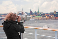 View on Stockholm city Stock Photos