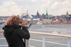 View on Stockholm city Stock Photos