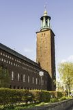 View of Stockholm City Hall Royalty Free Stock Photo