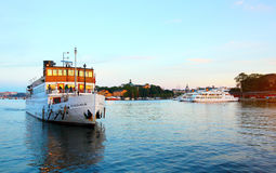 View of Stockholm city Royalty Free Stock Photos