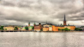 View of Stockholm sity center, Sweden Royalty Free Stock Image