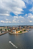 View of Stockholm, Sweden stock image