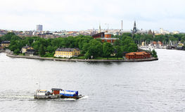 View of Stockholm, Sweden. Stockholm - the capital of Sweden Stock Image