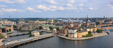 View of Stockholm, Sweden Royalty Free Stock Images