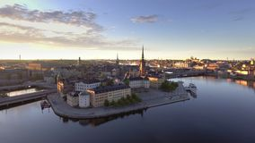Stockholm Sweden early morning stock footage
