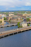 View of Stockholm, Sweden stock photos