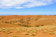 View from the Stokes Hill Lookout - Wilpena Pound Stock Image