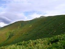 View of Stone Arthur, Lake District Royalty Free Stock Photo