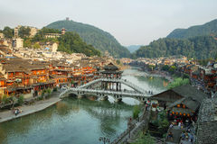 View of stone bridge in Fenghuang Royalty Free Stock Photos