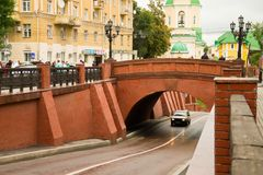 View from Stone Bridge in Voronezh Stock Images