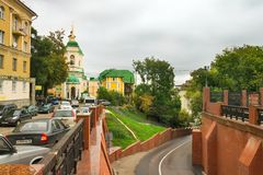 View from Stone Bridge in Voronezh Stock Image