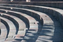 Steps of Arena di Verona Stock Photography