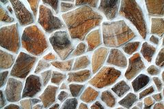 View of the stone textures Royalty Free Stock Image
