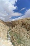 View of the stony canyon in the Judean Desert near Bethlehem. Israel. Stock Photo