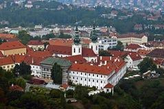 View on Strahov monastery Stock Image