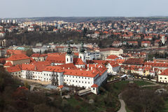 View of Strahov Monastery Stock Image