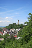 View of Stramberk with Truba Tower, Czech Republic Royalty Free Stock Photography