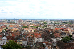 View of Strasbourg, Alsace, France Royalty Free Stock Images