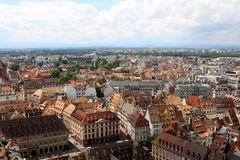 View of Strasbourg, Alsace, France Stock Image