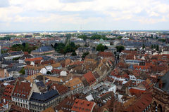 View of Strasbourg, Alsace, France Stock Photo