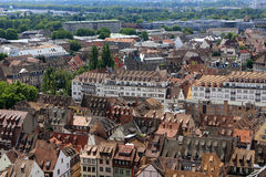 View of Strasbourg, Alsace, France Royalty Free Stock Image