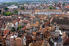 View of Strasbourg, Alsace, France Royalty Free Stock Photos