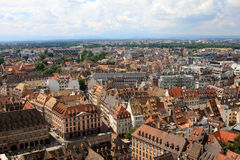 View of Strasbourg, Alsace, France Stock Photos